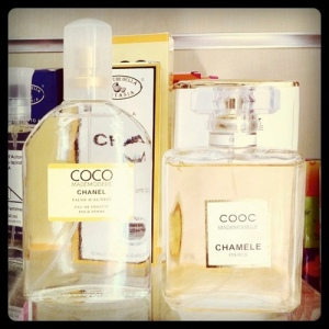 Some counterfeit gifts, like these two perfumes, can be difficult to spot. Credit: The Hamster Factor