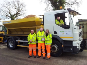 Norfolk's gritting teams were rushed off their feet most of the winter but took a bit of time to tell us about how their winter went.