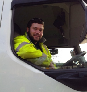 Liam Cooper, from Sheringham, has been a gritter for six years now.