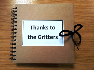 The scrapbook with over 60 of your comments of thanks to Norfolk's hardworking gritters.